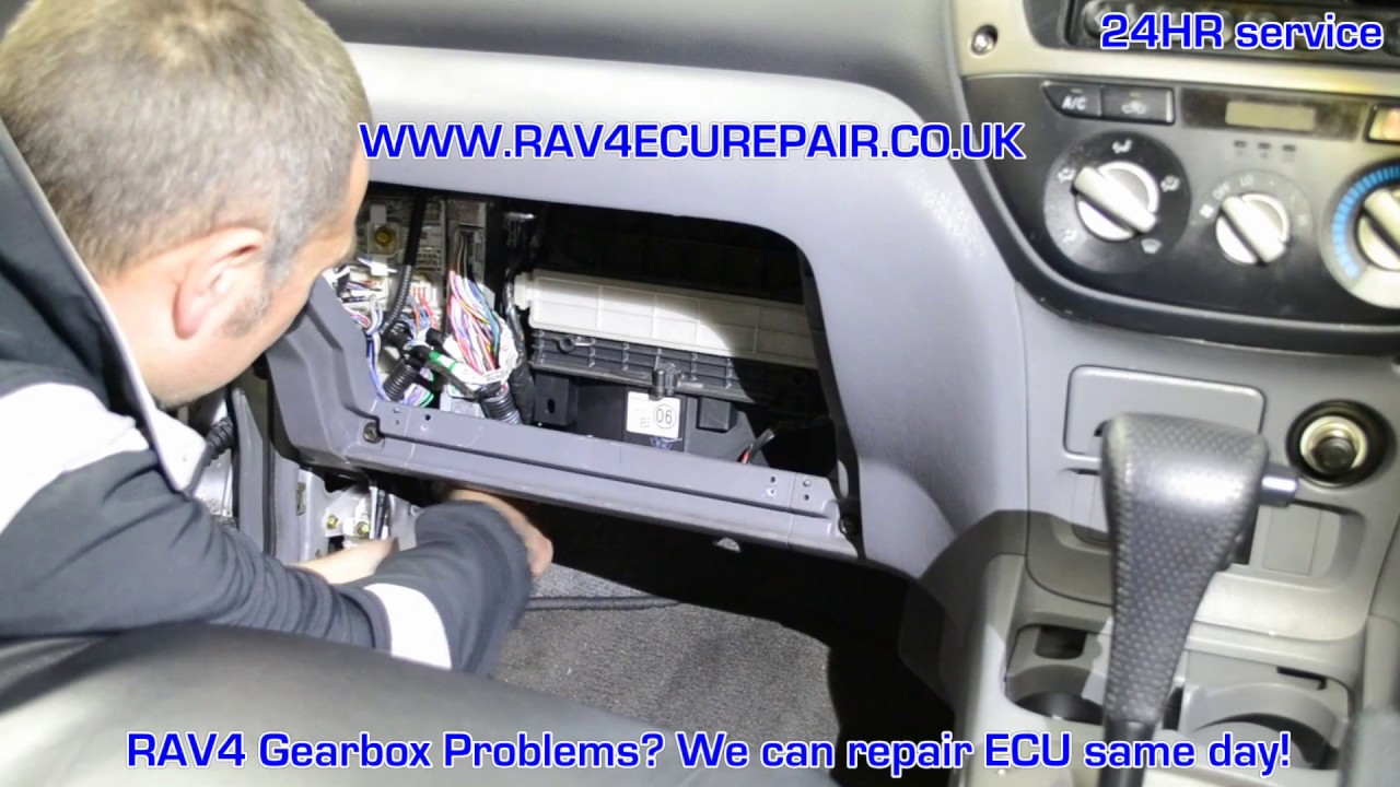 toyota rav4 ecu removal and repair 01932 800800 youtube. Black Bedroom Furniture Sets. Home Design Ideas
