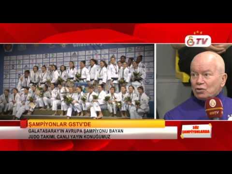 GSTV | Söz Şampiyonlarda  Avrupa Şampiyonu Galatasaray Bayan Judo Takımı