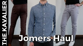 Jomers Unboxing - Excellent Value Shirting, Pants, & Trousers