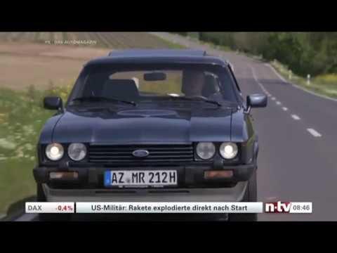 Ford Capri 2,8 SI / Bericht zum 30jährigen Produktionsende / NTV