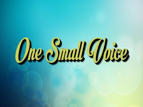 One Small Voice | Learn Sign Language | ASL Song | Jack Hartmann