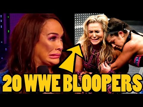 20  Embarrassing WWE Bloopers / Mistakes That Actually Aired In 2019