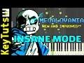 Megalomania Piano Cover Sans Version