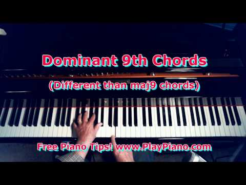Piano ninth chords piano : Vote No on : How To Play 9th Chords