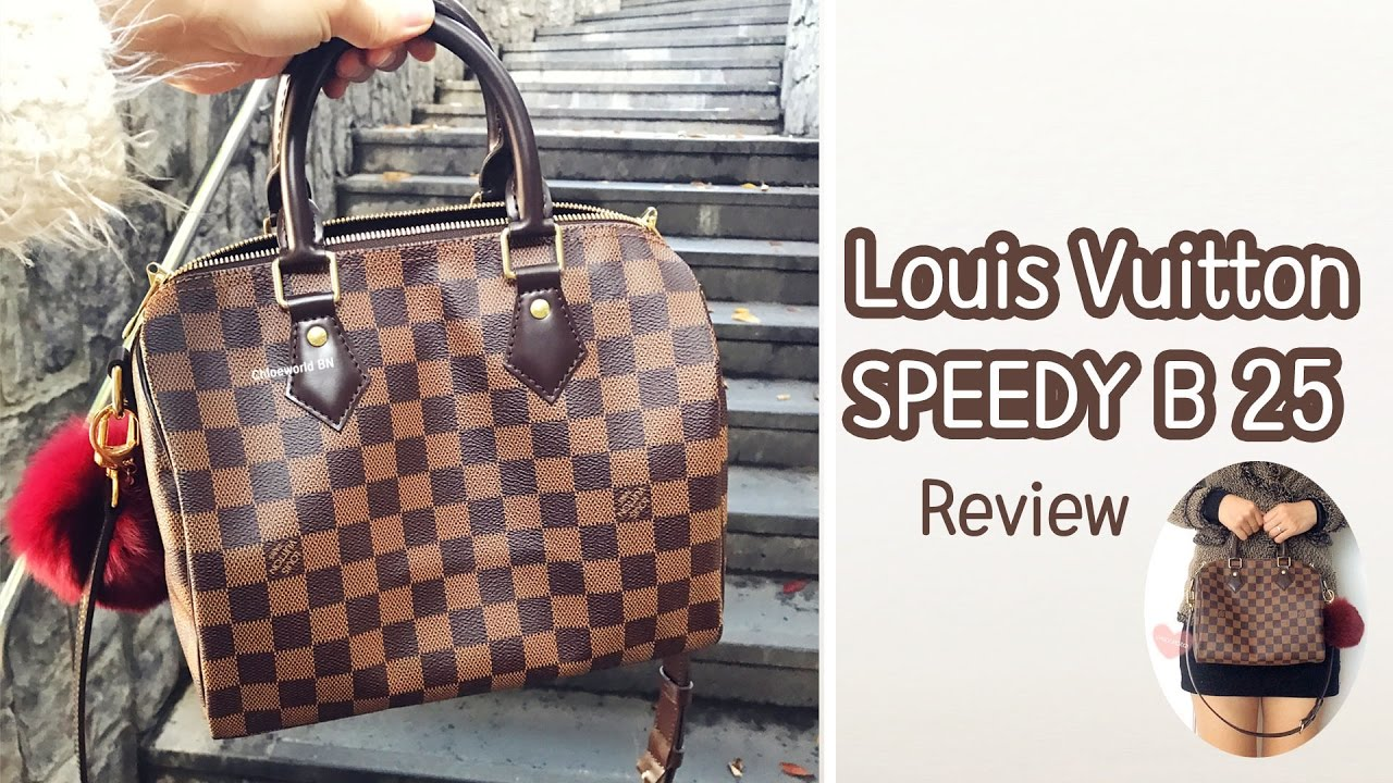 bdee52a5ed5a Louis Vuitton Speedy Bandouliere 25 Review