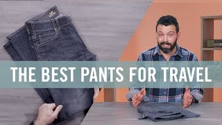 What are the BEST pants for traveling? | Travel Essentials | Travel + Leisure