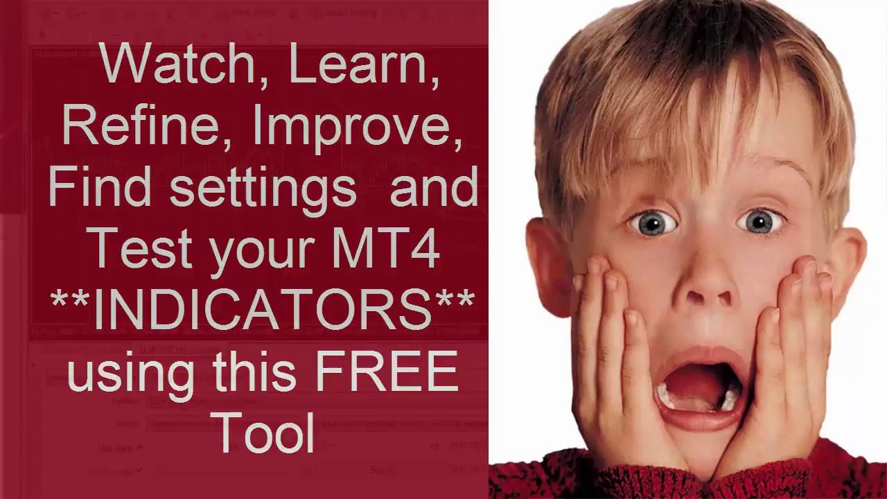 The Free Mt4 Platform Strategy Tester Tests Indicators Visualize