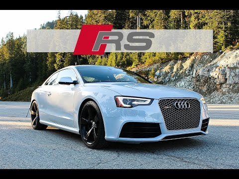 V8 Audi RS5 - Confidence inspiring and Almost Exotic (Review)