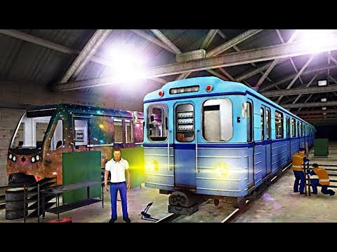 Subway Simulator 3D - My First Try - Blue Line