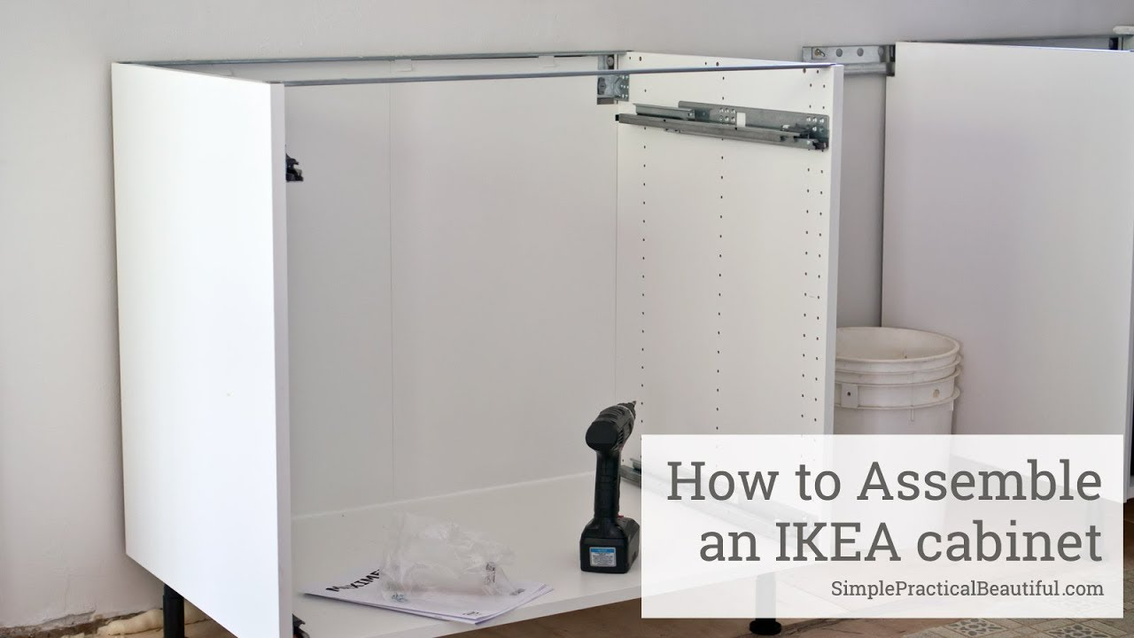 how to assemble ikea kitchen cabinets how to assemble an ikea sektion base cabinet 16787