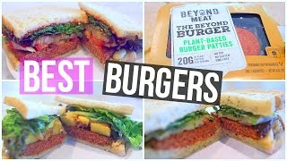 3 Easy & Delicious Burger Recipes For Lunch or Dinner!
