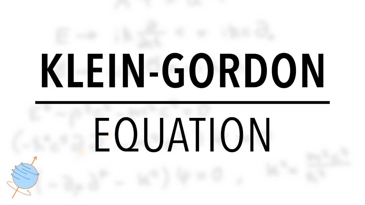 Klein-Gordon Equation