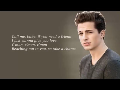 Charlie Puth - One Call Away (Acoustic) Lyrics