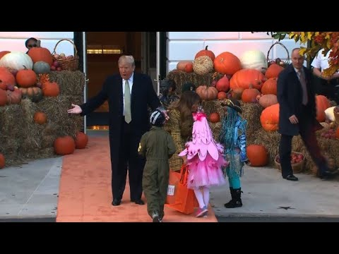 The White House celebrates Halloween with a costume party Mp3