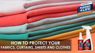 Protect your thin Textiles | Nano4-Textile | by NANO4LIFE