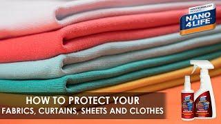 Protect your thin Textiles | Nano4-Textile | by NANO4LIFE