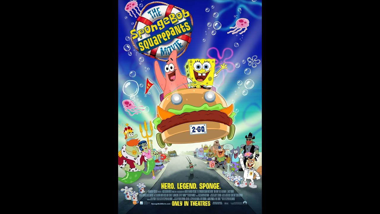 Opening To The Spongebob Squarepants Movie Amc Theatres 2004 Youtube