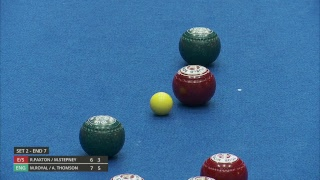 Just. 2019 World Indoor Bowls Championships: Day 3 Session 2