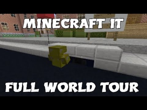 Minecraft IT Full World Tour! | IT MOVIE IN MINECRAFT!! | Derry City