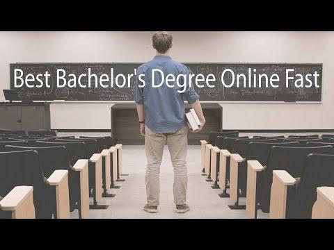 Best Bachelor's Degree Online Fast