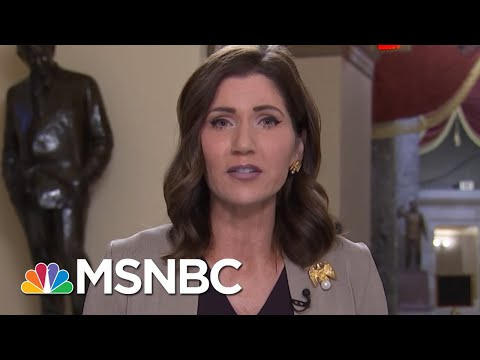 Congresswoman Kristi Noem On Why She Supports Farm Bailout | Morning Joe | MSNBC