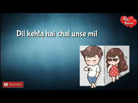 Dil Kehta Hai Chal Unse Mil Whatsapp Status | Female Version |unplugged Cover |Romantic Status Video