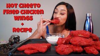 HOT CHEETO FRIED CHICKEN + RECIPE