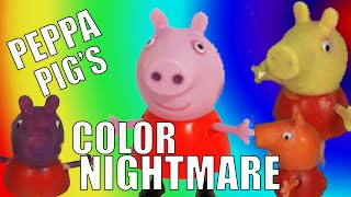 PEPPA PIG Has A Nightmare Skin Changes Colors ARGHHH!