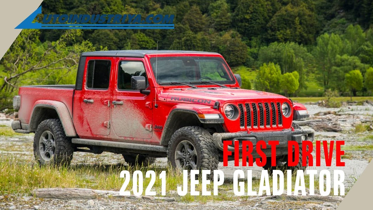 2021 jeep gladiator  first drive review  youtube