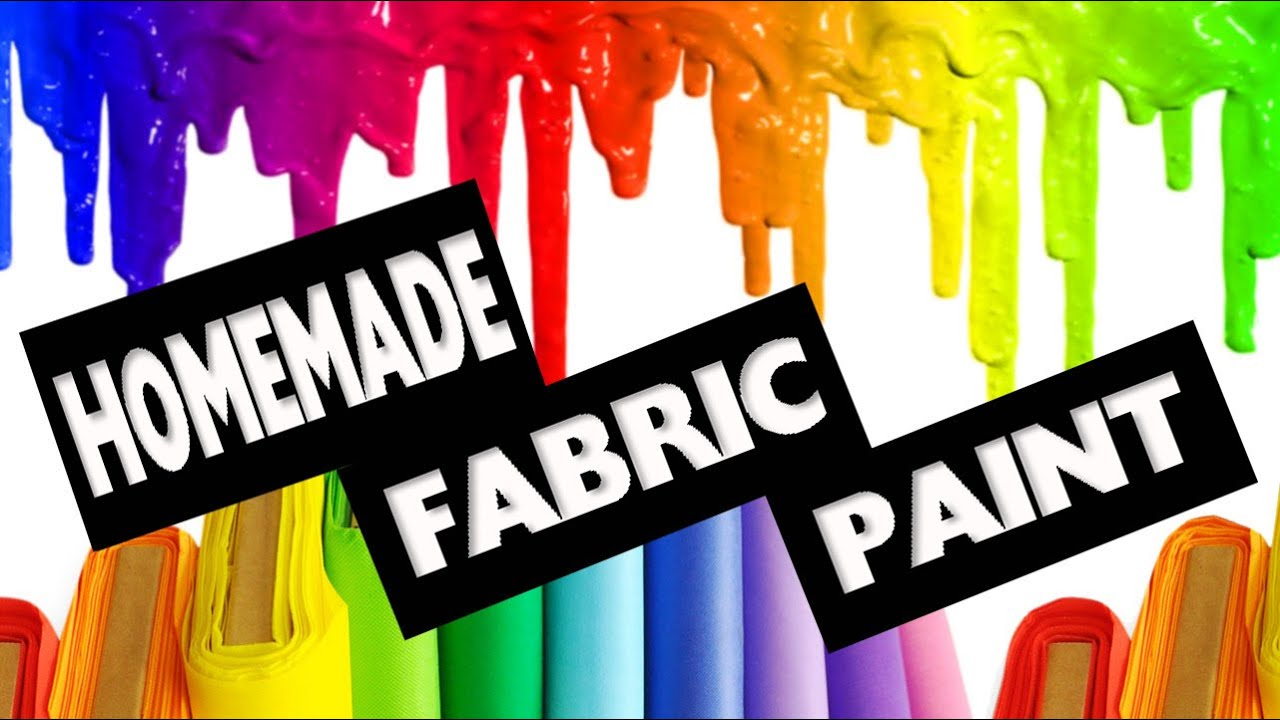Diy How To Make Fabric Paint No Cook Easy Crafts Simplekidscrafts You