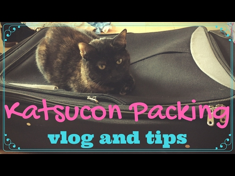 Katsucon Packing Vlog and Tips