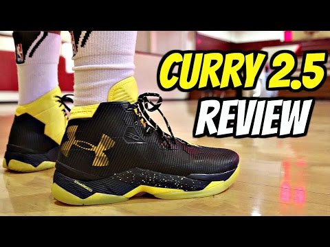 Under Armour Curry 2.5 Performance Review!