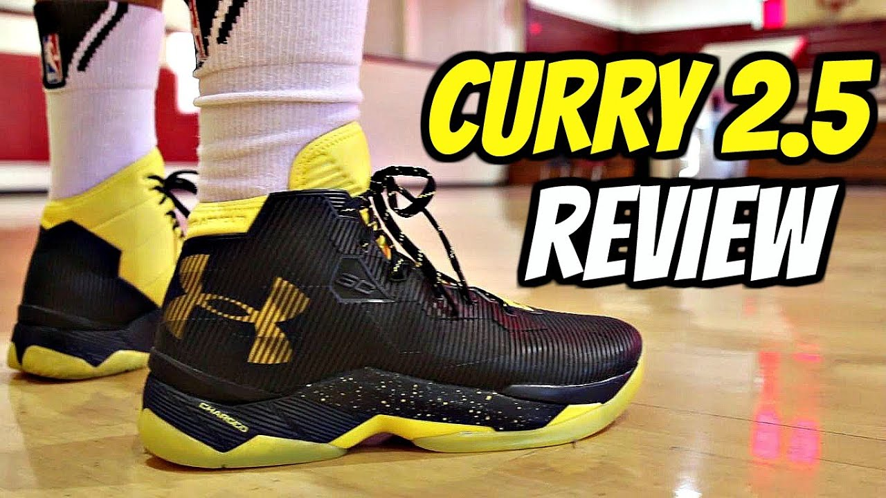 super popular 98a95 b990d Under Armour Curry 2.5 Performance Review!