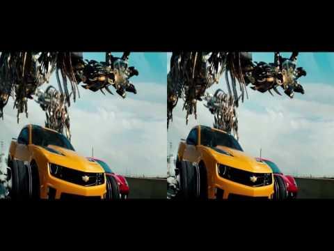 VR video cardboard -  Transformers [3D Side By Side]