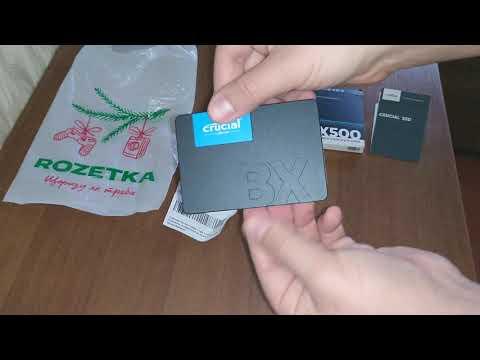"""Накопичувач SSD 2.5"""" 240GB MICRON (CT240BX500SSD1)"""