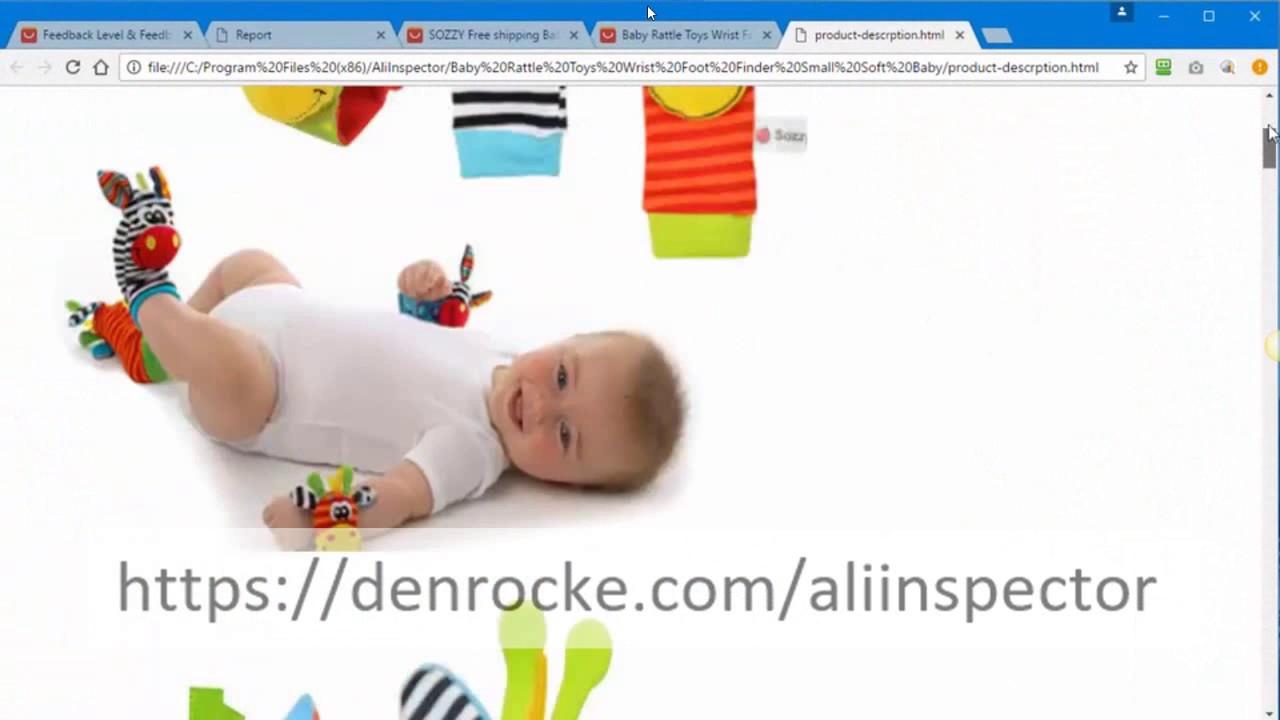 Get Ali Inspector From denrocke com/aliinspector