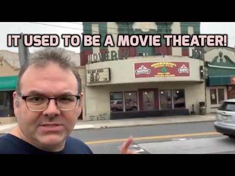 It used to be a Movie Theater!