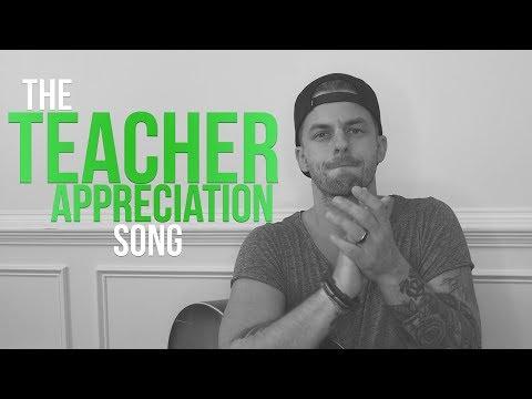 The Teacher Appreciation Song