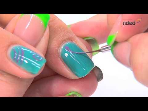 Nail Art Décor été Avec Vernis Semi Permanent Pour Ongles