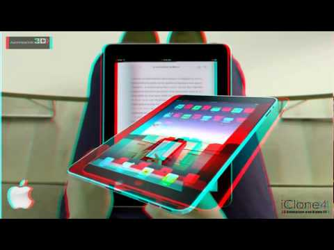 คลิปนี้ใช้ทดสอบแว่นตา 3D แบบธรรมดา