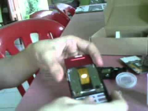 Fixing LCD Ribbon Sony Ericsson J20i