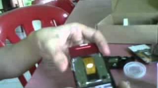 Fixing LCD Ribbon Sony Ericsson J20i