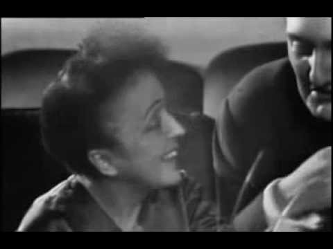 Edith Piaf - TV Award (interview) 1960