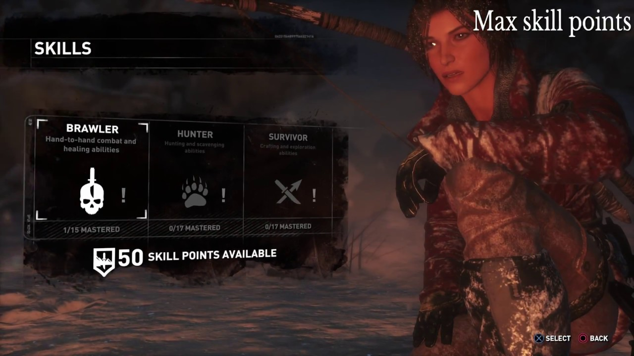 Rise Of The Tomb Raider Save Wizard For Ps4 Cheats Working Youtube