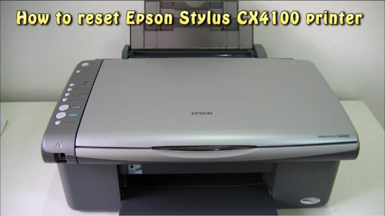 EPSON STYLUS CX4100 TELECHARGER PILOTE