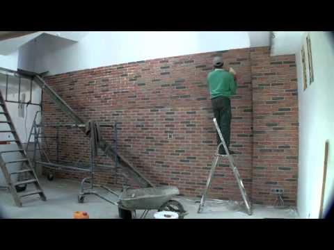 Atelier chambourdin pose parement brique et cr ation for Pose de parement interieur