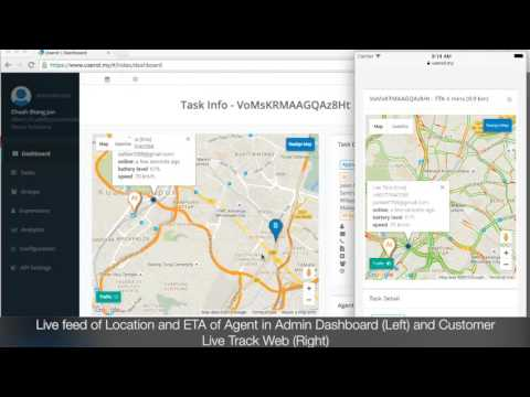 Usend - Showcase Live Feed On The Move Agent