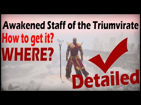 Awakened Staff Of The Triumvirate - Conan Exiles