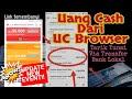 Cara Dapatkan Uang Cash Dari UC Browser