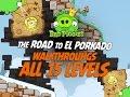 Gambar cover Bad Piggies - All Levels The Road To El Porkado 3 Star Walkthrough - iPad, iOS, Android